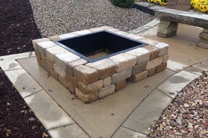 Square Madera Fire Pit Kit - Square Madera Fire Pit Kit Shopfireside, Grills, Smokers, BBQ Rubs