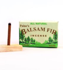 40 Balsam Fir Incense Sticks w/ holder