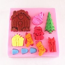 MINI HOLIDAY HOUSE MOLD