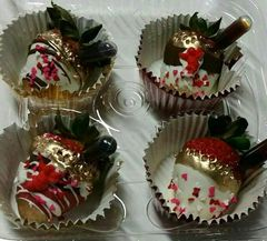 CHOCOLATE TRUFFLES, DECORATIONS & BON BONS,