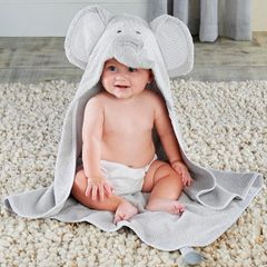 "Personalized ""Little Peanut"" Hooded Towel"