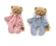 Gund's Little Teddi Pacifier Clip