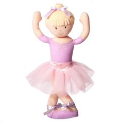 """On The Move"" Bendable Ballerina - Blonde"