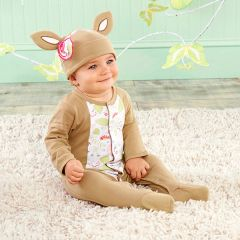"Personalized ""Oh Deer"" Two-Piece Sleeper Set"