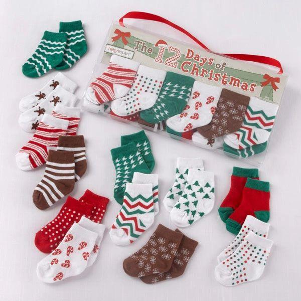 12 days of christmas sock set