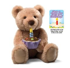 Animated Happy Birthday Bear by Gund