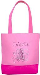 Ballet Shoes n Ribbons Bling Tote