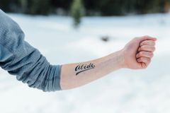 Abide Temporary Tattoos - 2 Sizes