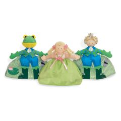 Topsy Turvy Princess/Frog/Prince - 3 Dolls in 1!