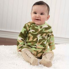 Personalized Little Soldier Sleep Set