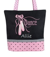 Pointe Shoes N Ribbons Tote