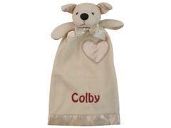 Personalized Lovie Babies Jack Terrier Security Blanket