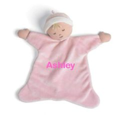 "Personalized 8"" Baby Girl Cozy"