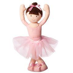 """""""On The Move"""" Bendable Ballerina - Brunette"""