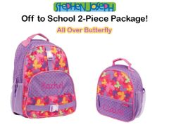 "Personalized ""Back to School"" 2-Piece Butterfly Set"