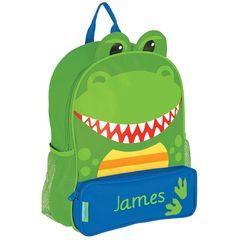 Personalized 3D Dinosaur Backpack by Stephen Joseph