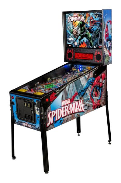 SPIDERMAN VAULT PINBALL