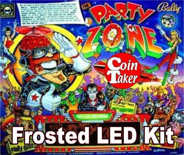 3. PARTY ZONE LED Kit w Frosted LEDs