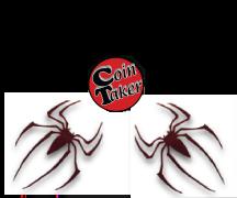 SPIDERMAN Red SLK Acrylic Set