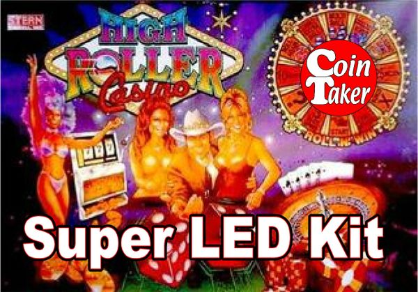 High Roller Casino-2 LED Kit w Super LEDs