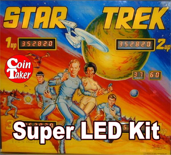 2. STAR TREK - 1978 LED Kit w Super LEDs
