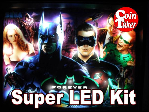 2. BATMAN FOREVER (SEGA) LED Kit w Super LEDs