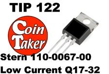 TIP 122 Transistor Stern Low Current - Flash Q17-32