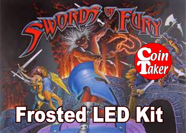 SWORDS OF FURY LED Kit w Frosted LEDs