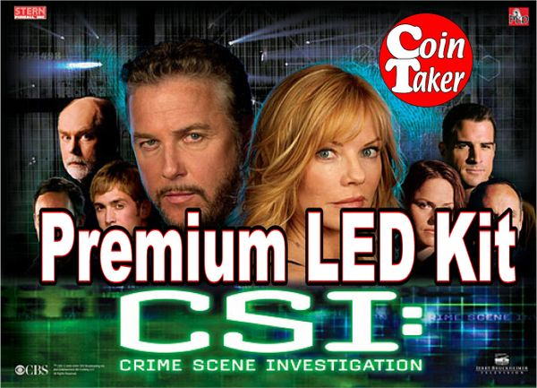 CSI-1 Pro LED Kit w Premium Non-Ghosting LEDs