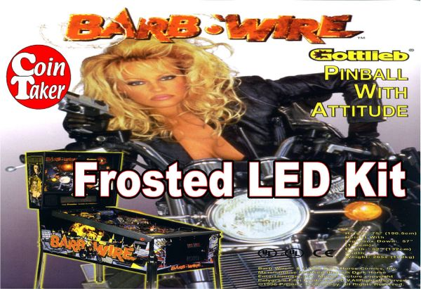 3. BARB WIRE LED Kit w Frosted LEDs