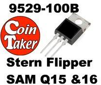Stern Q15 / 16 Flipper Transistor 110-0168-00 Mosfet 9529-100B