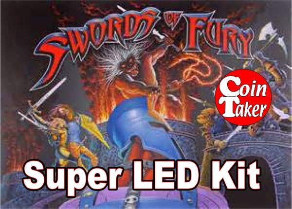 SWORDS OF FURY LED Kit w Super LEDs