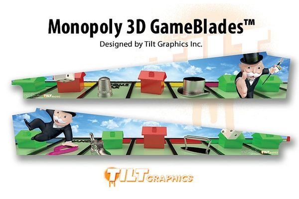 MONOPOLY 3D GAMEBLADES