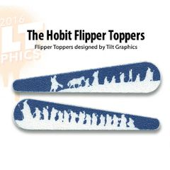 The Hobbit: The Fellowship Flipper Toppers