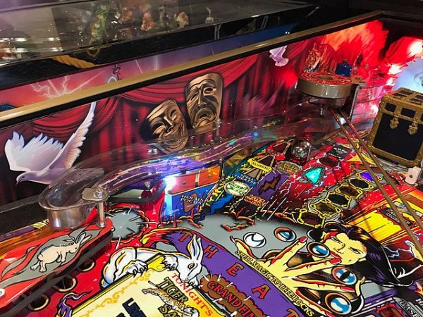 Theatre of Magic PinBall Inner Art PinBlades