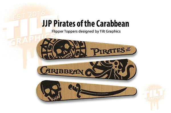 Pirates of the Caribbean JJP TG-Flipper Toppers