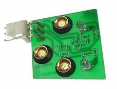 DUAL OPTO RECEIVER BOARD WITH GROMMETS