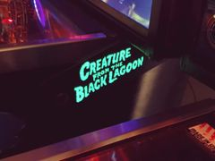 CREATURE FROM THE BLACK LAGOON GREEN LIGHTED MAGNETIC HINGE COVERS