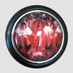 AC/DC Red Flame Shooter Rod