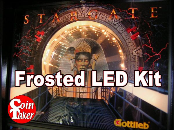3. STARGATE LED Kit w Frosted LEDs