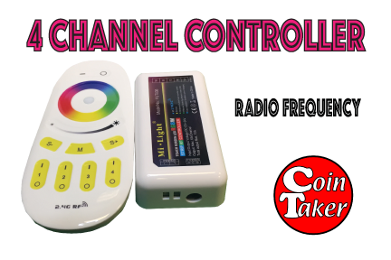 LED Controller 4 Channel RF