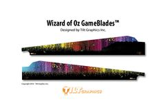 WIZARD OF OZ GAMEBLADES