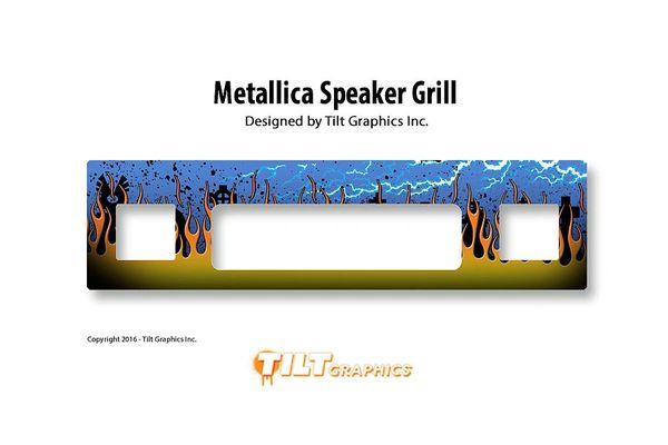 Metallica Speaker GameGrill