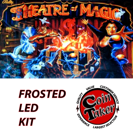 3. THEATRE OF MAGIC LED Kit w Frosted LEDs