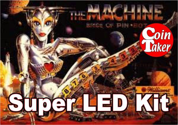 2. BRIDE OF PINBOT LED Kit w Super LEDs