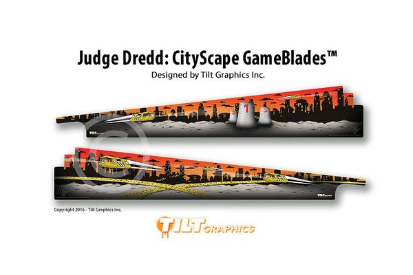 Judge Dredd: CityScape GameBlades