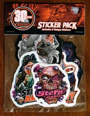 STERN STICKERS DESIGNED BY DIRTY DONNY
