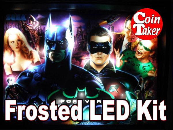 3. BATMAN FOREVER (SEGA) LED Kit w Frosted LEDs