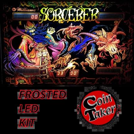 3. SORCERER LED Kit w Frosted LEDs