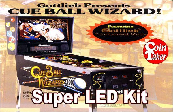 2. CUE BALL WIZARD LED Kit w Super LEDs